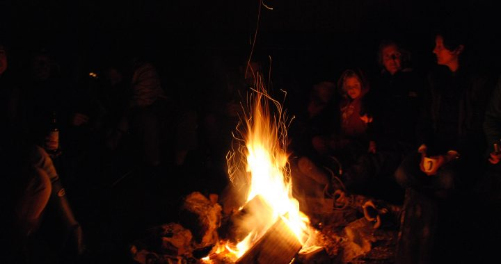 Bardic Fire at Scapa Fest the UK's Yoga and Adventure Festival